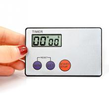 1Pcs Portable Ultrathin Credit Card Sized Digital LCD Kitchen Timer Buzzer Alarm Magnetic Cooking Timer