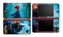 Brave Merida 346 Vinyl Skin Sticker Protector for Nintendo DSI XL LL for NDSI XL LL skins Stickers