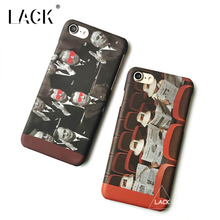 LACK Phone Case For iphone 6 6S Plus Retro Men Painting Back Cover Fashion Western Style Cases Funny Cartoon Hard Coque Capa(China)