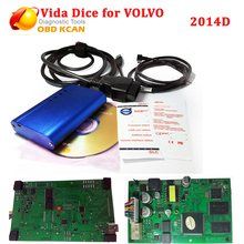 2016 Latest Version 2014D Multi-language Vida Dice For VOLVO vida dice Diagnostic tool Scanner vida dice with best quality