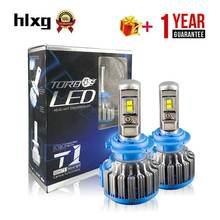 Hlxg H7 LED 12V H11 H8 H9 9005 Car Headlight Kit 35W 7000LM Auto Front Bulb DRL Fog Led Light Lamps CANBUS No Error For 99% Car