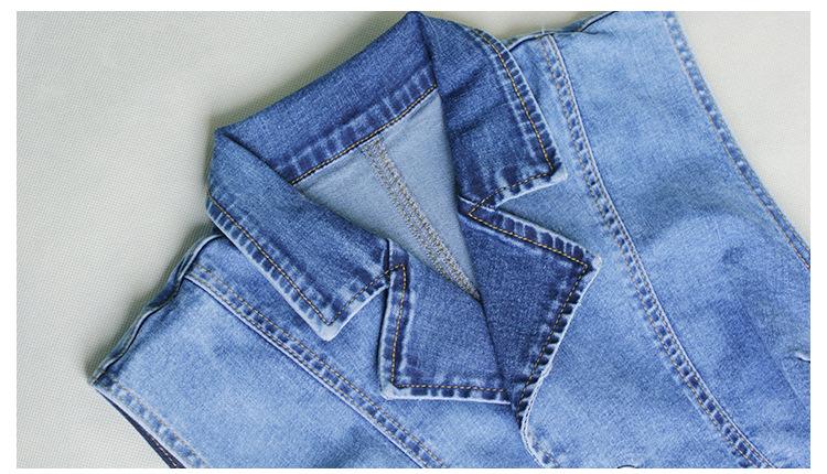 Single Breasted Women Playsuit Romper Sexy Skinny Bodysuit Denim Jumpsuits Summer Sleeveless Fashion Ladies Jeans Body Feminino (7)