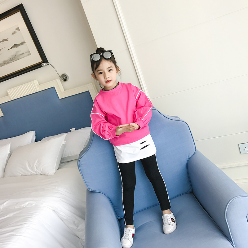 Childrens Garment Autumn Clothing Suit New Pattern Western Style Solid Three-piece Spring Autumn Korean Fashionable Suit Hot<br>