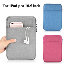 For 2017 Release iPad Pro 10.5 Tablet Sleeve Pouch Case Cover for iPad 2017 Shockproof Sleeve Funda Case for iPad Air 1 2 Sleeve(China)