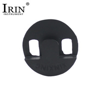 IRIN Black Round Rubber Cello Mute Violoncello Musical Intruments Parts & Accessories(China)
