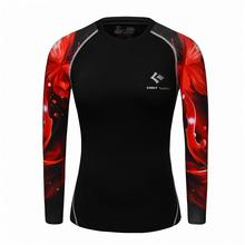 Buy Reverse Flash 3D Printed T Shirt Women Compression Shirt Ladies Raglan Long Sleeve Cosplay Costume Fitness Tops Female Clothes for $9.90 in AliExpress store
