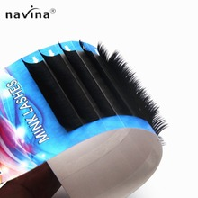 NAVINA Rainbow Individual False Eyelashes Extensions maquiagem Lashes Mink Eyelash Cosmetic Fake Lash Make Up Tool