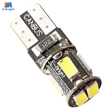 YM E-Bright 100PCS T10 W5W 194 168 5630 6 SMD Can-bus Error Free 6 Led Interior Lights White 6000K Canbus 180LM High Power