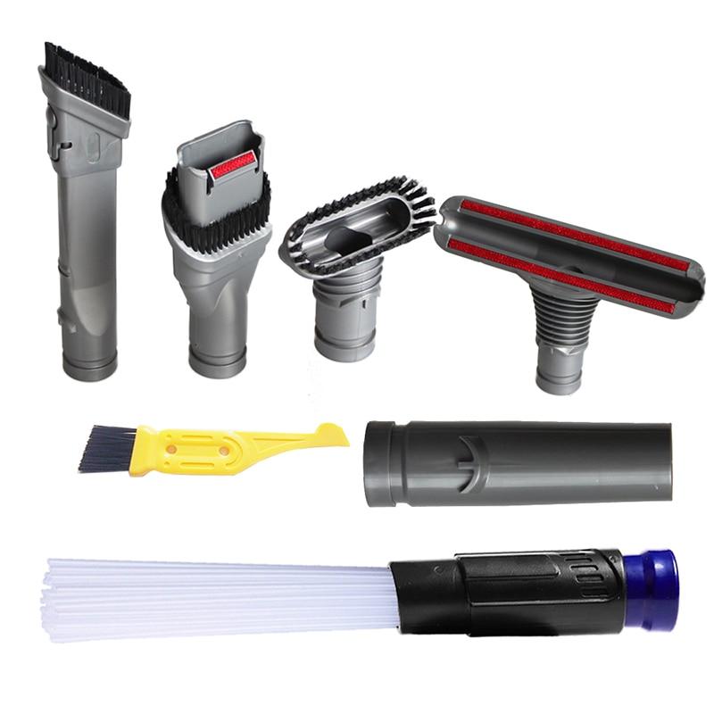 5PCS Universal Vacuum Attachments Cleaning Kit Brush Nozzle Motor head Vaccum