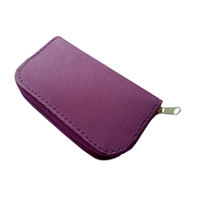 centechia Purple Memory Card Storage Carrying Case Holder Wallet 18slots + 4 slots For CF/SD/SDHC/MS/DS 3DS Game accessory(China)