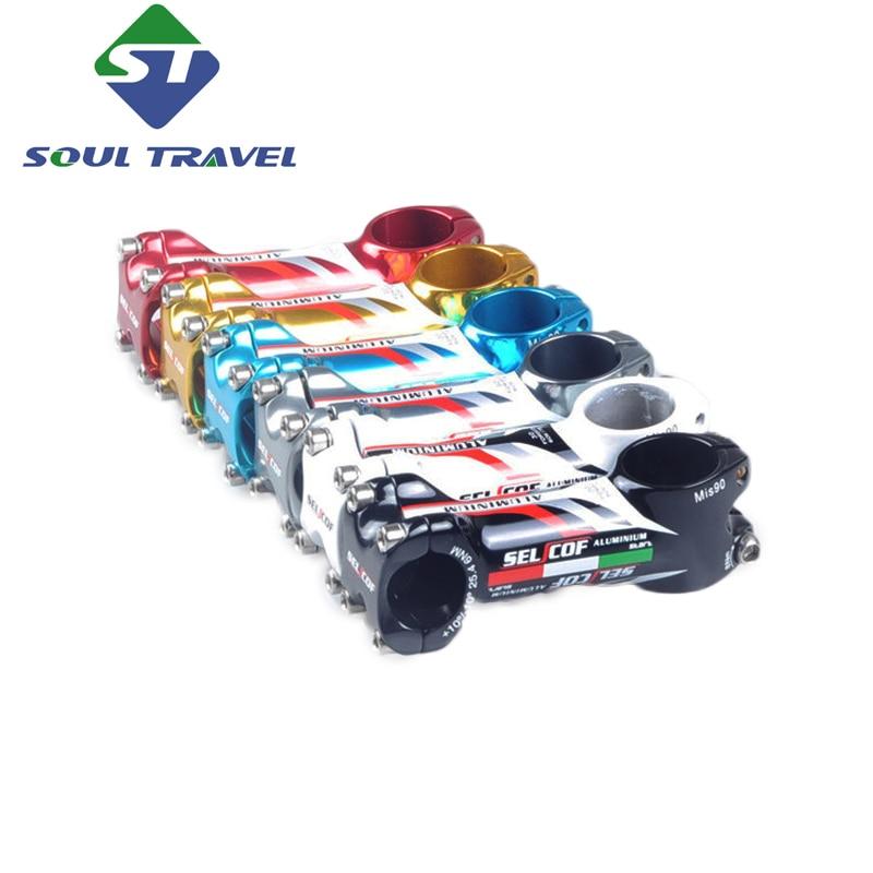 Soul Travel Aluminum 25.4 Bicycle Stem Mountain Road Bike Stem Adjustable Bolts Bicycle Parts Potencia De manillar De Bicicleta<br><br>Aliexpress