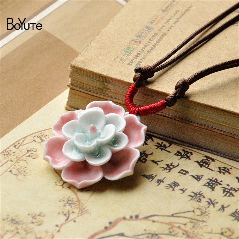 Flower necklace (5)