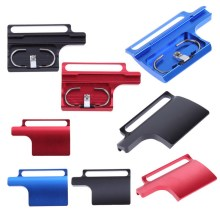 Colorful CNC Aluminum Snap Latch Back Door Protective Clip Housing Lock Buckle for GoPro Hero 3+ 4(China)