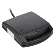 USB 2.0 Smart Card Reader Smart IC Card Reader Writer PC/SC USB - CCID EMV ISO7816 for Windows 98 / 2000 / XP/ Vista32 /64 / Mac