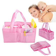 Nappy Bags Mummy Bag Bottle Storage Multifunctional Separate Bag,Nappy Maternity Handbag Baby Tote Diaper Organizer 34*13*18cm