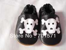 Guaranteed 100% soft soled Genuine Leather baby shoes2001(China)