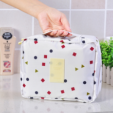New Portable Toiletry Cosmetic Bag Waterproof Makeup Make Up Wash Organizer Storage Pouch Travel Kit Handbag Brand DesignNeceser(China)