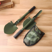 Portable Folding Multifunctional Shovel Military Saw Trowe Pickaxe Survival Shovel Spade Emergency Tool Sapper Shovel