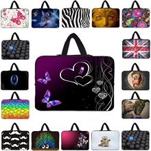 13 Inch Neoprene Laptop Case For Lenovo 14 12 15 10 17 Inch Soft Computer Notebook Pouch Cases For HP Chuwi hi12 Samsung Toshiba