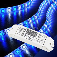 BC-834  DMX512 Decoder controller LED RGB+White/Warm white led strip decoder / RGBW RGBWW 4ch DMX Decoder , 3 Year Guaranty