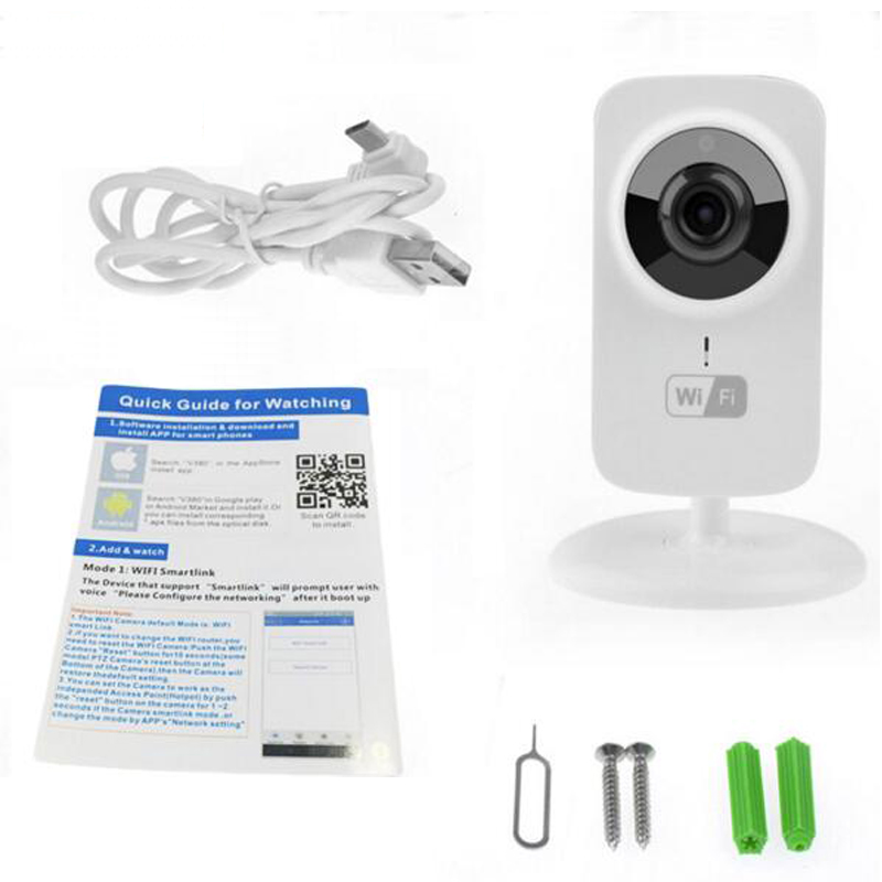 Wifi camera vigila bebes nanny 720P baby camera IR night vision Intercom Motion Detection Alarm vigilabebes wifi security camera<br>