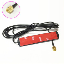 3G 4G LTE antenna SMA male patch antenna 3dbi 3meters extension cable SMA male plug connector