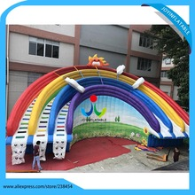 16*8M Giant Inflatable Water Park Slides with Swimming Pool, Adults Size Inflatable Water Slides(China)
