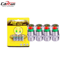 4Pcs/Pack 2.0Bar 32PSI Car Tyre Tire Pressure Valve Stem Caps Sensor Monitoring Eye Alert Alarm Car Styling Air Tools Kit
