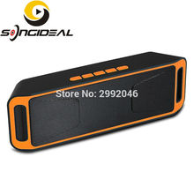 SONGIDEAL Portable Wireless Stereo Speakers Build-in Microphone Support Hands-free Function for iPhone Samsung Tablet Smartphone(China)