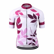 Special sublimation women pink cycling jersey/sports ladies purple bike uniform bicycle clothes/UV outdoor female girl bike wear(China)