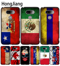 HongJiang slovak mexico canada chile colombia flag case phone cover for LG G6 G5 K10 K7 K4 magna Spirit(China)