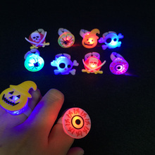 2017 Sale Costume Leds Toys Gifts For Children Kids Cartoon Led Flashing Light Glowing Finger Rings Figures Christmas 10pcs/lot