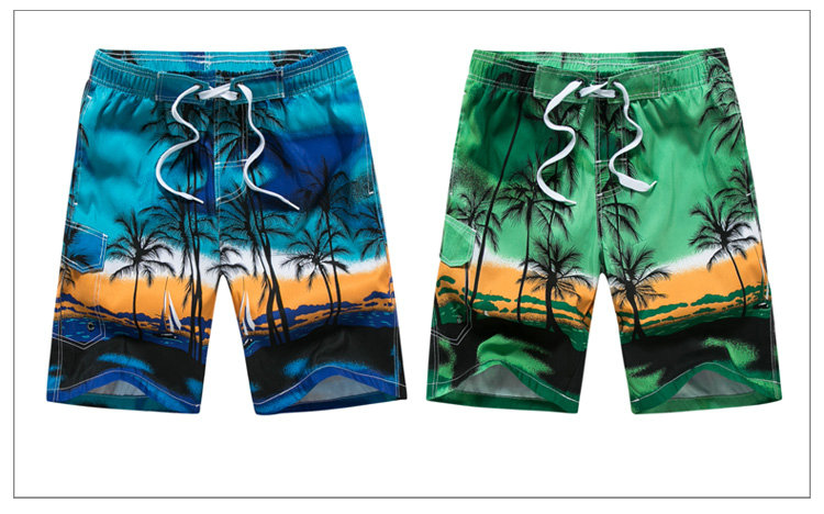 17 Hot Summer Mens Board Shorts Fashion Printed Beach Shorts Men 9