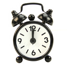 Mini Lovely New Home Outdoor Portable Cute Mini Cartoon Dial Number Round Desk Alarm Clock