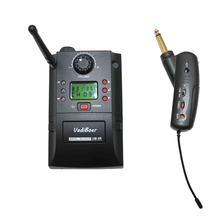 Professional UHF PLL Wireless Guitar Microphone for Concert and Stage performance IR Transmitter electric torch microphone