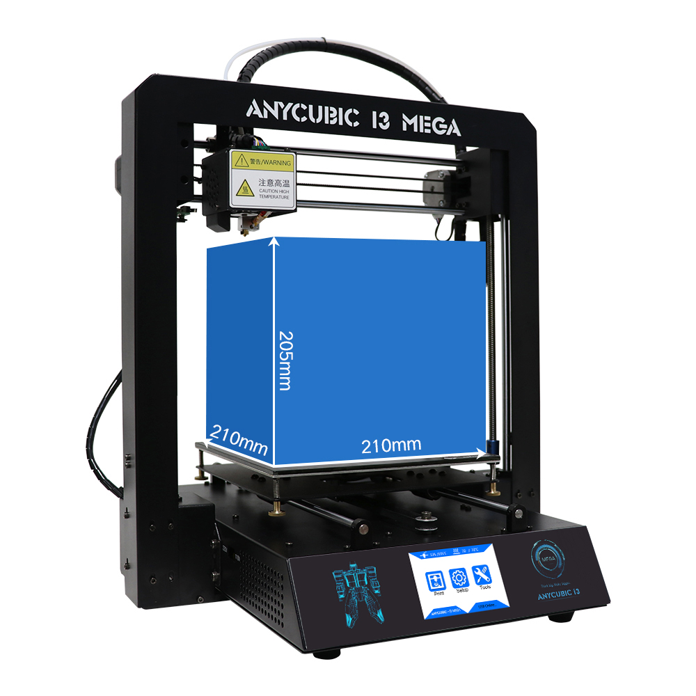 Anycubic 3D printer impresora 3d I3 Mega full metal imprimante 3d High Precision Patented Lattice Platform 3d printer kit (26)