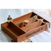 Home Furnishing ornaments creative gifts new 4 lattice large tray