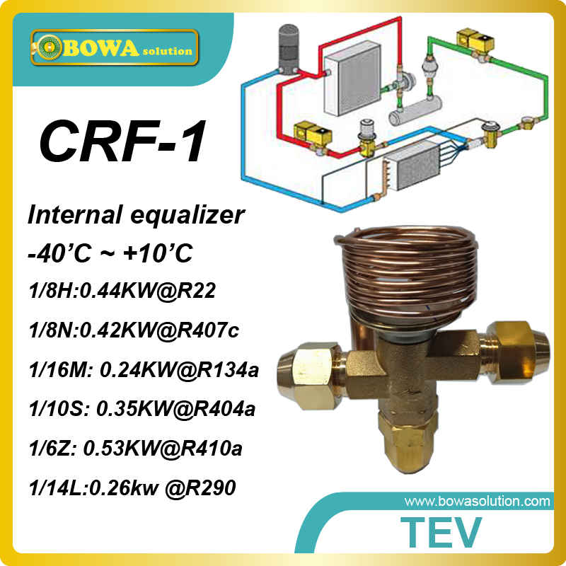 CRF-1 0.22KW(R134a) cooling capacity  internal equilizer and thread connection thermostatic expansion valves for  cooling units<br><br>Aliexpress