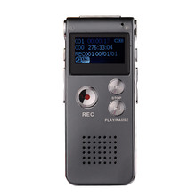 New Arrival 8GB Mini USB Voice Recorder Flash Digital Audio Voice Recorder 650Hr Dictaphone 3D Stereo MP3 Player(China)