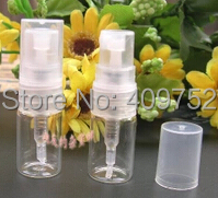 Lot of 50pcs 2ml glass spray atomizers clear perfume bottles(China)