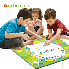 Actionclub Oversized Water magic painting canvas kid children water drawing mat water doodle baby toy drawing board Eco-friendly