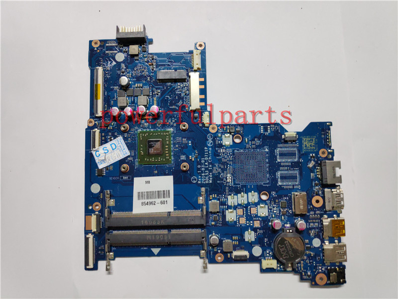 LA-D711P Laptop motherboard For HP 15-BA 854962-001 854962-601 854962-501 with UMA A8-7410 TS cpu fully tested well