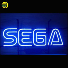 Neon Sign Sega Gameroom Advertise Glass Tubes Neon Bulb Signboard lighted custom letters lighted signs neon lights for sale(China)