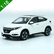 High simulation 1:18 HONDA VEZEL SUV Alloy Diecast Car Model Toys For Kids Birthday Gifts Collection Free Shipping