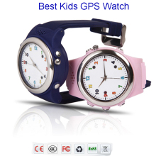 Colorful Kids GPS Phone Watch TP061 compatible with IOS and Android smart mobile phones Pink/Blue/Green/Yellow baby watch(China)