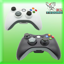 Wireless Gamepad Controller For XBOX 360 Wireless Controller Joystick for XBOX 360 Game Controller Color Black & White