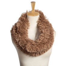 KLV 2017 Womens Blend Circle Collar Scarf Shawl Collar Wrap Stole Scarve faux fur scarf blanket scarf winter sjaals voor vrouwen