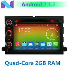 4G Android 7.1.2 Quad Core 2GB RAM Car DVD Player For Ford Explorer Fusion Mustang Focus Edge Expedition Escape F150 Radio GPS(China)
