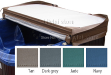 Customized spa cover skin at any size and shape, swim spa cover leather(China)