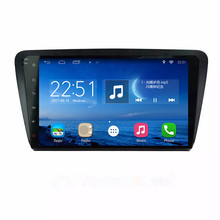 ChoGath(TM) 10.2 Inch Android 6.1 GPS Navigation For 2012-2015 Skoda OCTAVIA with Touch Screen Aftermarket Bluetooth Radio TPMS